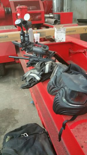 Paintball gear for two for Sale in Blanco, TX