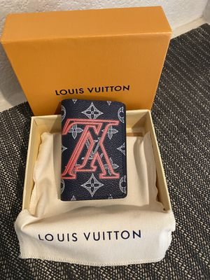 Louis Vuitton Kim Jones Wallet Black/ Red, Bifold, New With Box And Dust Bag for Sale in Fontana, CA