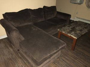 SECTIONAL COUCH W/ DETACHABLE OTTOMAN !! for Sale in Boston, MA