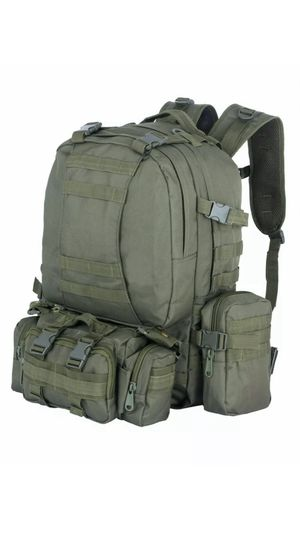 Tactical Backpack LJ Fortress Premium Travel Camping Hiking 40L Multicam for Sale in Brooklyn, NY