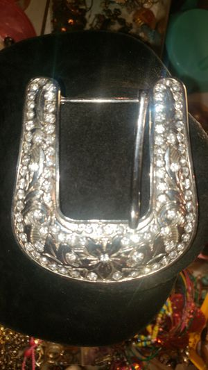 STERLING SILVER BUCKLE for Sale in West Valley City, UT