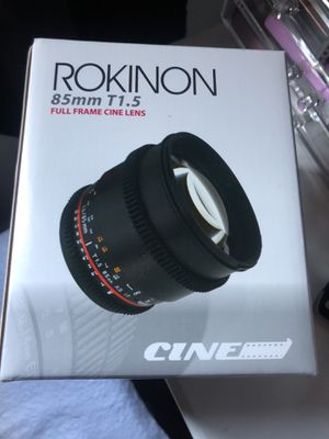 Camera lens cannon for Sale in Downey, CA