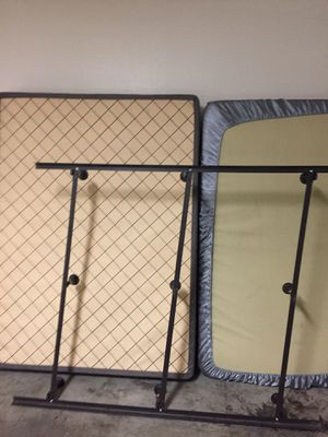 Queen Size Bed with Frame and Box spring for Sale in Scottsdale, AZ