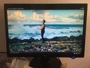 """21"""" LG monitor with VGA and Power cable for Sale in Boston, MA"""