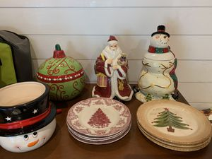 Christmas Dishware/Decor for Sale in LAUD LAKES, FL