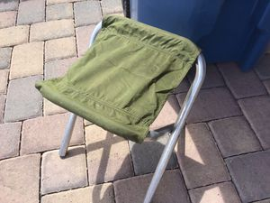 Small aluminum folding camping chair for Sale in Las Vegas, NV