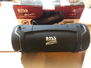 Boss audio rebel power sports Bluetooth speaker opened box for Sale in Corning, OH