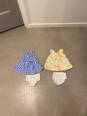 Cat & Jack Brand Baby Girl Dresses Size 0-3 Months for Sale in Phoenix, AZ