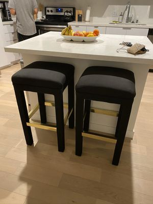 Black/Gold Bar Stools for Sale in Los Angeles, CA