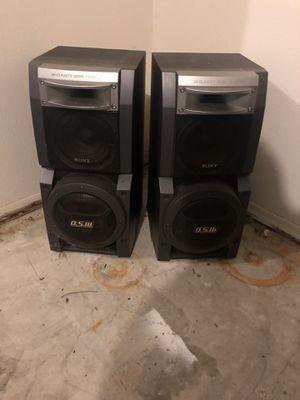 Sony D.S.W Speakers for Sale in Lawton, OK
