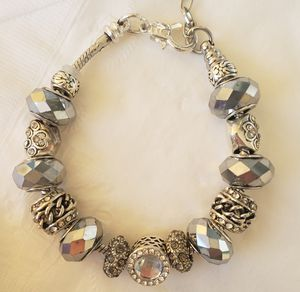 Silver Charm Bracelet Buy 1 for $15 or 2 for $25 for Sale in Baltimore, MD