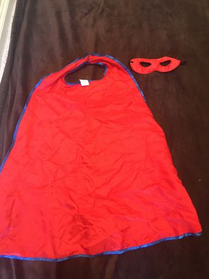 Super hero costume (4-6 years) for Sale in Antioch, CA