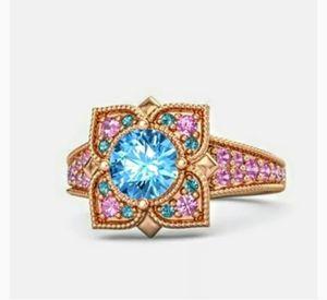 New in gift Box 18k Gold Filled Ring Sz 7 for Sale in Wichita, KS