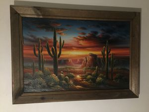 Desert Painting- Bernard Duggin OBO for Sale in Virginia Beach, VA