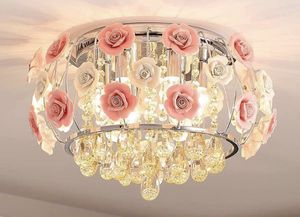 19.7 inch Crystal Chandelier Ceiling Light Mount Fixtures Modern Hanging Lighting Decoration Decor for Sale in Toledo, OH