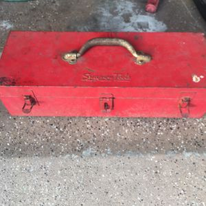 Vintage Snap On Job Box And Misc Snap On Wrenches for Sale in Port Richey, FL
