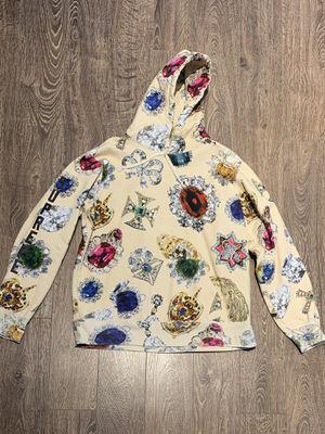 Supreme Jewels Cream Sweatshirt Large for Sale in Atlanta, GA