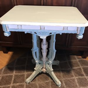 Antique shabby chic Eastlake side table-price firm for Sale in El Cajon, CA