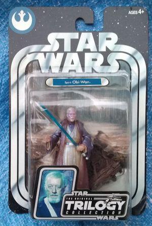 Star Wars OTC Spirit Of Obi Wan Kenobi Action Figure MOC 2004 for Sale in Pasadena, CA