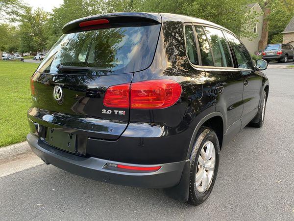 2013 Volkswagen Tiguan TSI Turbocharged