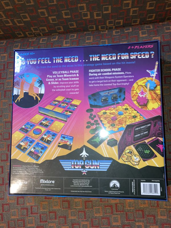 Top Gun Strategy Game (English, Sealed) New Board Game