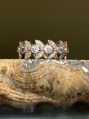 Gold Over 925 Sterling Silver Ring w/White Cubic Zirconia 2.81ctw for Sale in Sterling, VA