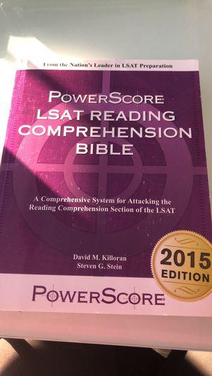 Brand new LSAT reading study guide for Sale in Denver, CO
