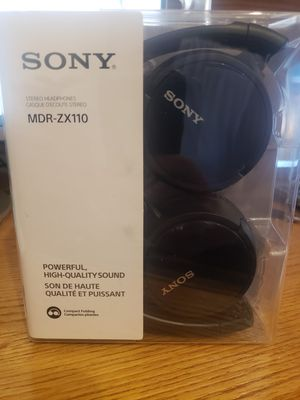 Sony MDX-ZX100 headphones for Sale in Buffalo Grove, IL
