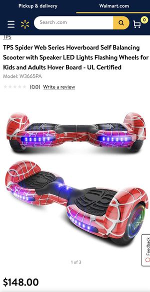 Spider web series hoverboard for Sale in Phoenix, AZ