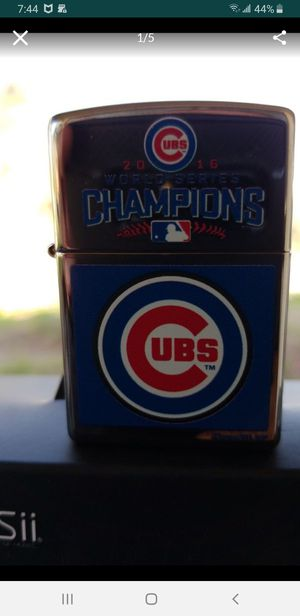 2016 Chicago Cubs world series zippo brand new $29 obo for Sale in Anaheim, CA