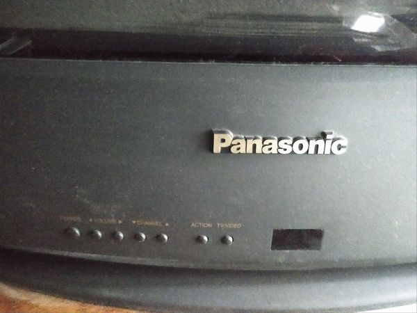 "Free 36"" Panasonic Tv"