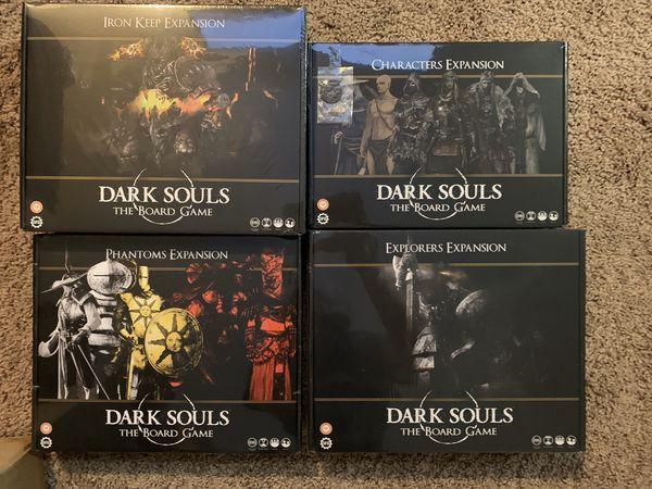 Dark soul board game