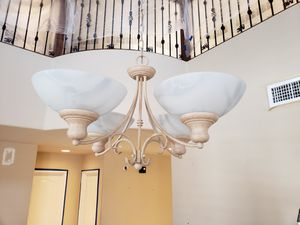 Vaulted Ceiling 4 Light Chandelier for Sale in Goodyear, AZ