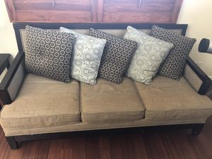 Couch w/ Pillows for Sale in Aldie, VA