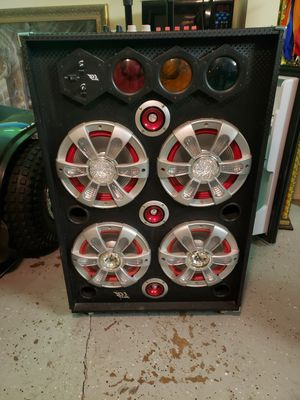 Big boombox speaker that lights up for Sale in Des Plaines, IL
