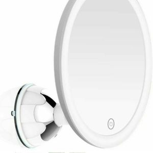 MGLIMZ 10X Magnifying Makeup Mirror with Lights, LED Lighted Vanity Mirror with Strong Suction Cup for Sale in Fontana, CA