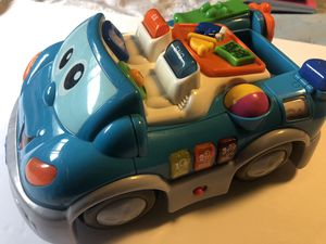 Chicco Bilingual Talking car Toy Spanish / English Educational baby toys vintage for Sale in San Bernardino, CA