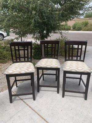 Wood barstools for Sale in Maricopa, AZ
