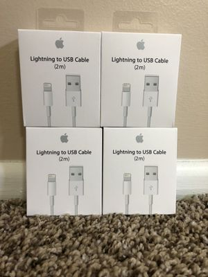 Brand new oem apple iPhone chargers for Sale in Irvine, CA