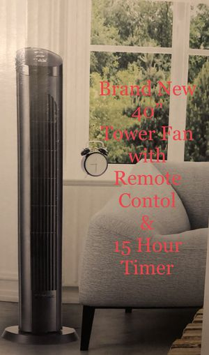 Tower Fan 📍 Remote Control 📍 15 hour Timer Auto Shut Off 📍 Brand New in Box📍$40 each Firm price for Sale in Monterey Park, CA