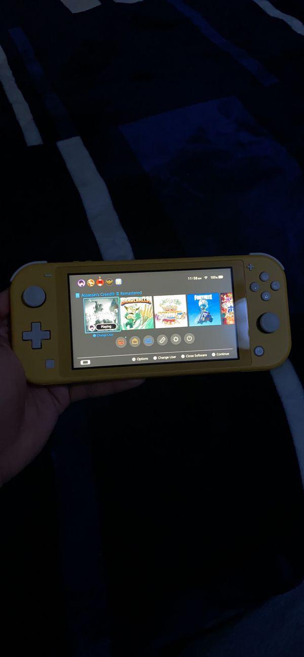 Nintendo switch light