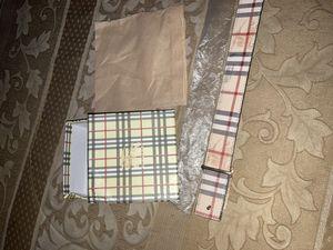 Men's Burberry belt. Brand new for Sale in Menomonee Falls, WI