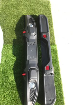 2019-2020. Jeep front Bumper complete. Rear Bumper skin. Have all inner parts included. New take off for Sale in Carlsbad, CA