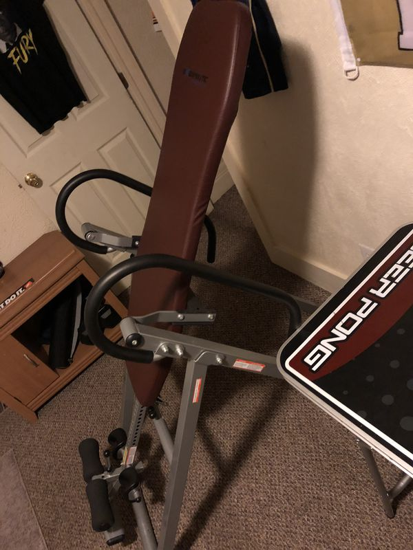 Exerpeudic Inversion Table