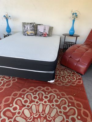 NEW FULL SIDE MATTRESS NEW WITH BOX SPRING for Sale in Hollywood, FL