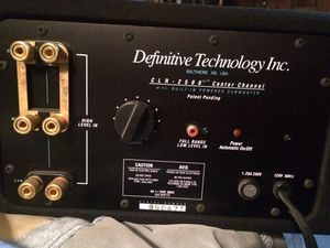 Difinitive Technology CLR 2500 for Sale in Milford, MA