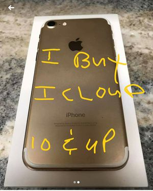 ICLOUD IPHONE 10 AND UP ONLY for Sale in Miami, FL