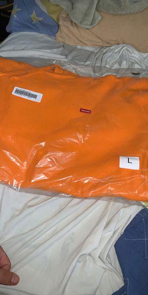 Orange small bogo supreme hoodie 2020 for Sale in Warren, MI