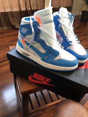 Jordan 1 Retro High Off-White University Blue (Size7) for Sale in Nashville, TN