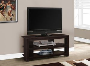 """Monarch Specialties TV Stand, 3-Shelf, For Flat-Panel TVs Up To 40"""" for Sale in Miami Beach, FL"""